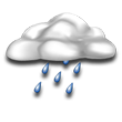 Mostly cloudy, a couple of showers; chilly. Low around 40F. Winds up to 5.8 mph.