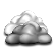 Mostly cloudy. Low around 43F. Winds up to 5.8 mph.