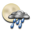 Clear to partly cloudy and cool with a shower. Low around 46F. Winds up to 20.7 mph.