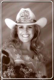 2004 Mother Lode Round-Up Queen - Meagon Middleton