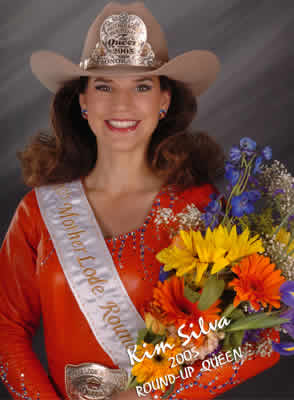 Kim Silva, 2005 Mother Lode Round-Up Queen