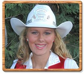 2010 Mother Lode Round-Up Queen - Kendra Brennan