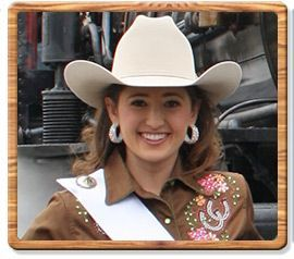 2012 Mother Lode Round-Up Queen - Taylor Howell