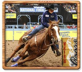 Barrel Racing 2007 World Champion - Mary Burger