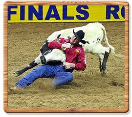 Steer Wrestling 2009 World Champion - Lee Graves