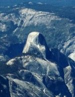Yosemite Half Dome From the Air
