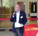 Dr. Dennis Gervin speaking at the Sugar Pine Building ribbon cutting