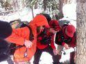 TC Search & Rescue (left to right)  John McGettigan, Tony Savage, Jamie Gratwicke