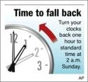 Time To Fall Back