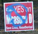 Campaign Sign Vandalism