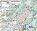 Beardsley Prescribed Fire Map
