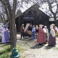 Docent Volunteers gather for Columbia's 163rd Birthday Celebration