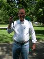 Senator Tom Berryhill at the Capitol Frog Jump
