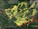 Rim Fire Map Aug 25