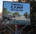 Angels Camp Museum Sign