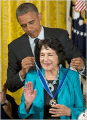 Dolores Huerta Receives Presidential Medal Of Freedom