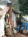 Glencoe Flue Fire
