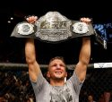 TJ Dillashaw Celebrates His Victory