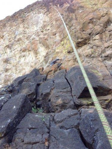 Rock Climbing at Table Mountain