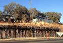 Mono Way Retaining Wall Construction