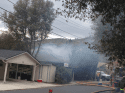 Alpine Lane Fire in Sonora