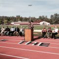 Superintendent Robert Griffith and Dignitaries at Summerville Thorsted Stadium Opening