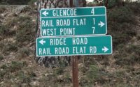 Rail Road Flat Sign Photo by Michael Lance Miller