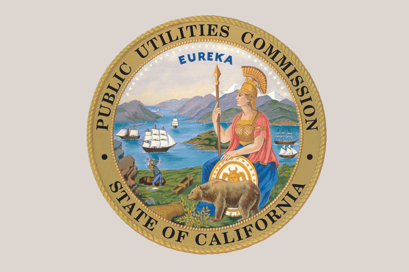 CA Public Utilities Commission logo