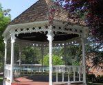 Gazebo at Rocca Park in Jamestown