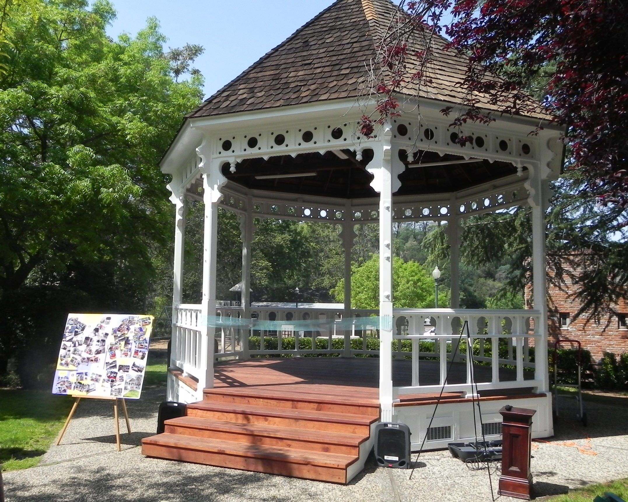 Rocca Park Gazebo MML Photo