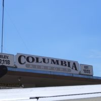 Columbia Airport Sign