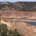 New Melones low water levels-6-1-2015