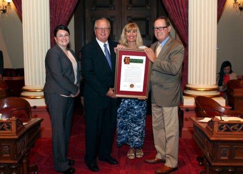 Tenaya Lodge Honored at State Capitol