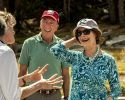 Laura Bush was the honored guest at the 100th anniversary of the original dedication of Tioga Road
