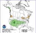 NOAA Latest Precipitation Outlook, July, 2015