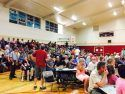 Butte Fire Town Hall Meeting At Calaveras High