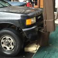 SUV accident at Inns of California