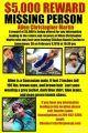 Allen Christopher Martin Reward Poster