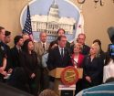State Senate GOP tax break proposal press conference in Sacramento
