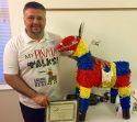 Octavio Valencia and the talking Pinata