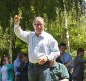 District 8 Senator Tom Berryhill hosted the Capitol Frog Jump in Sacramento