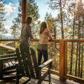 Rush Creek Lodge, Hillside Villa Deck