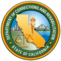 Seal of the Calirfornia Department of Corrections and Rehabilitation
