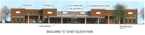 Renderings of Commercial Buildings Proposed in Columbia submitted to the TC Planning Commission