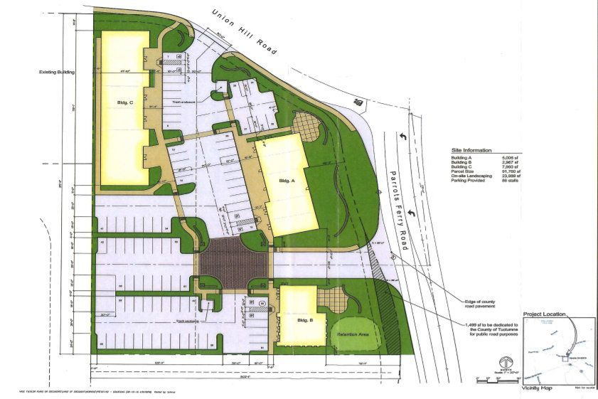 Renderings of Commercial Buildings Proposed in Columbia submitted to the TC Planning Comission