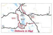 Bonds Flat Road Closure - Detours
