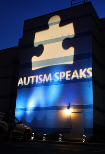 Light It Up Blue For World Autism Day