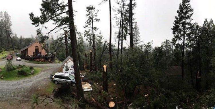 Storm Damage In Twain Harte – Ponderosa Drive