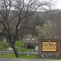 Columbia State Historic Park Sign