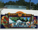 Sonora Farmers Market Mural, downtown Sonora